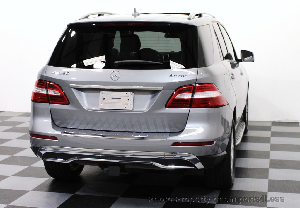 2015 Mercedes-Benz M-Class CERTIFIED ML350 4Matic AWD Blind Spot CAMERA NAVI - 14469202 - 26