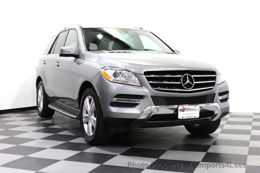 2015 Mercedes-Benz M-Class CERTIFIED ML350 4Matic AWD Blind Spot CAMERA NAVI - 14469202 - 2