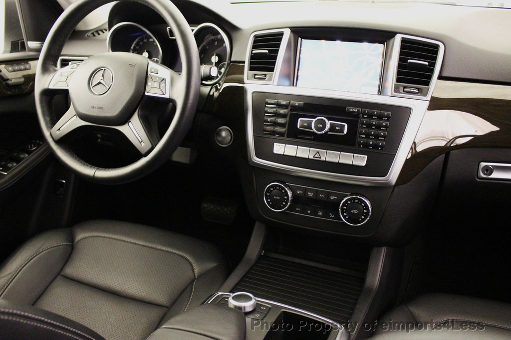 2015 Mercedes-Benz M-Class CERTIFIED ML350 4Matic AWD Blind Spot CAMERA NAVI - 14469202 - 29