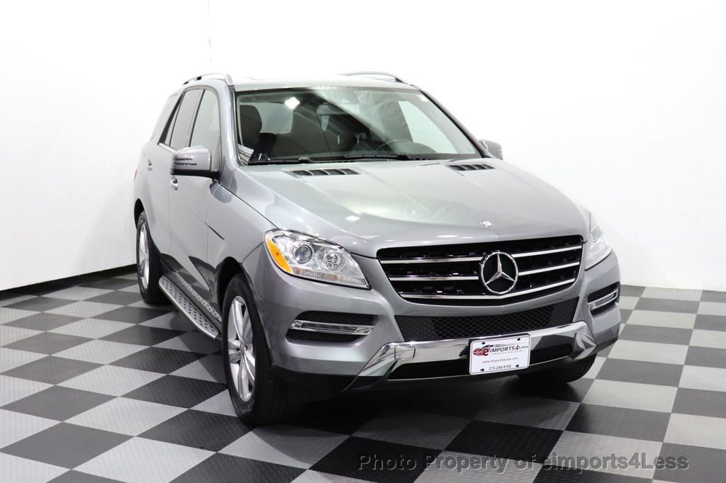 2015 Mercedes-Benz M-Class CERTIFIED ML350 4Matic AWD Blind Spot CAMERA NAVI - 14469202 - 34