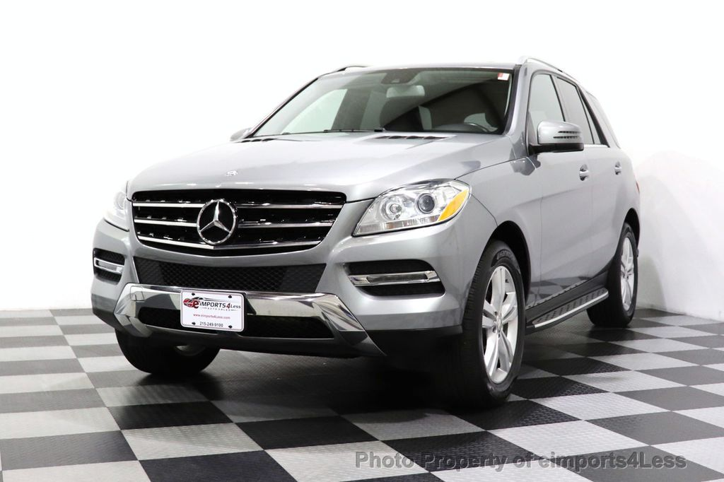 2015 Mercedes-Benz M-Class CERTIFIED ML350 4Matic AWD Blind Spot CAMERA NAVI - 14469202 - 41
