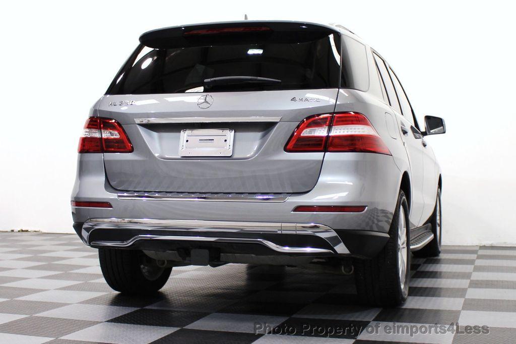 2015 Mercedes-Benz M-Class CERTIFIED ML350 4Matic AWD Blind Spot CAMERA NAVI - 14469202 - 43