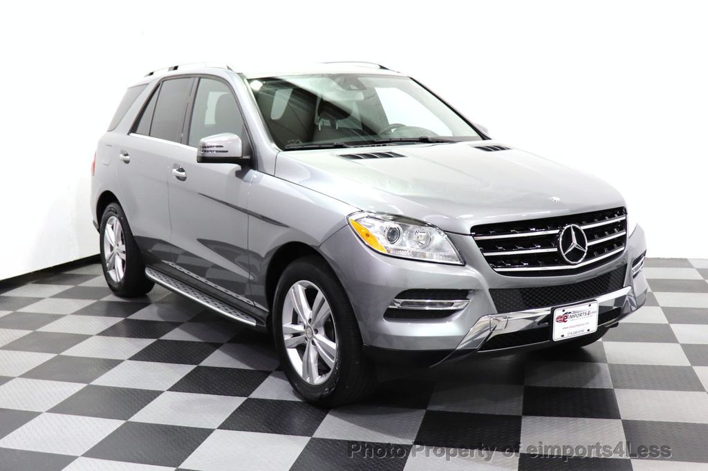 2015 Mercedes-Benz M-Class CERTIFIED ML350 4Matic AWD Blind Spot CAMERA NAVI - 14469202 - 44
