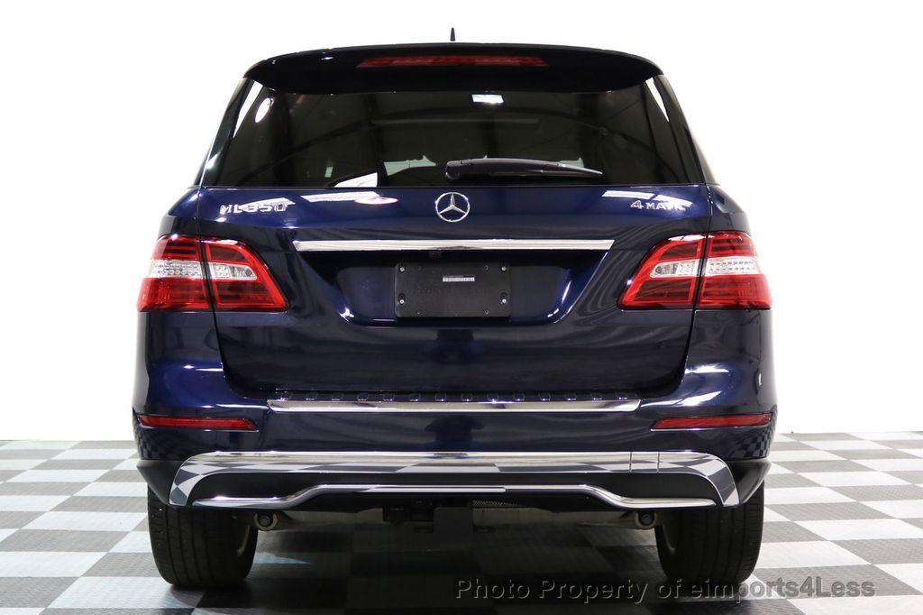 2015 Mercedes-Benz M-Class CERTIFIED ML350 4Matic AWD Blind Spot CAMERA NAVI - 17425261 - 17