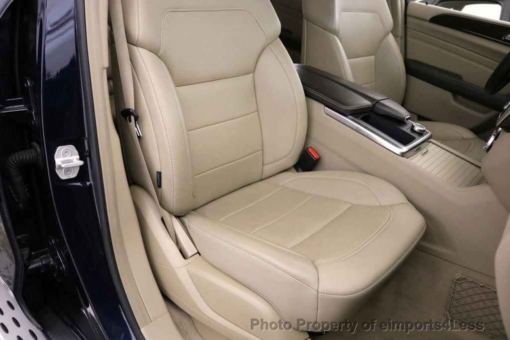 2015 Mercedes-Benz M-Class CERTIFIED ML350 4Matic AWD Blind Spot CAMERA NAVI - 17425261 - 24