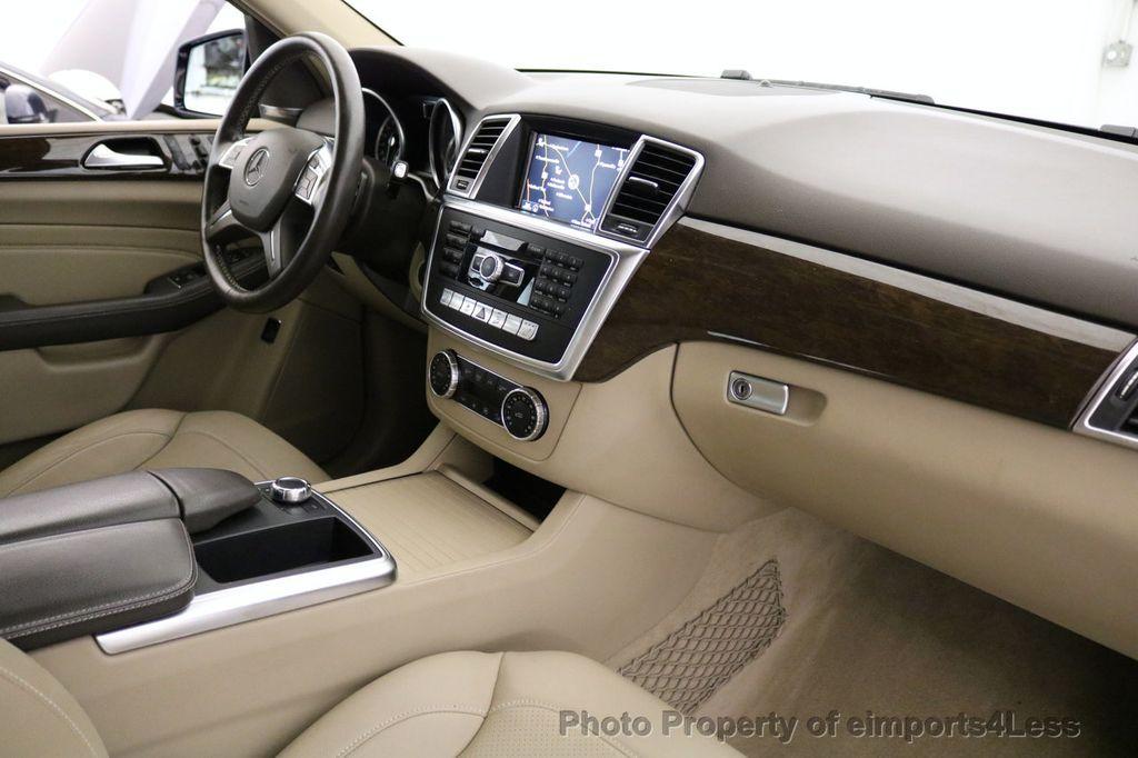 2015 Mercedes-Benz M-Class CERTIFIED ML350 4Matic AWD Blind Spot CAMERA NAVI - 17425261 - 27