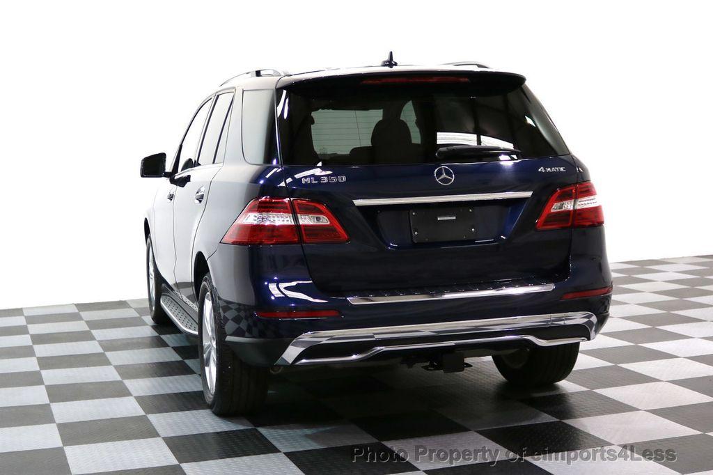 2015 Mercedes-Benz M-Class CERTIFIED ML350 4Matic AWD Blind Spot CAMERA NAVI - 17425261 - 33