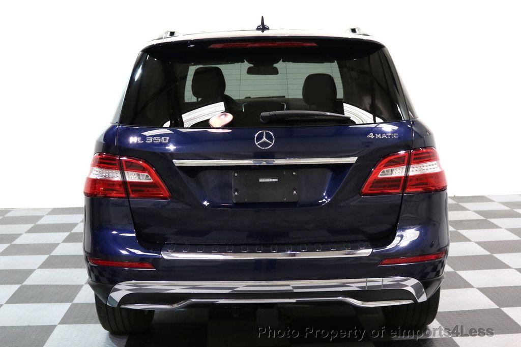 2015 Mercedes-Benz M-Class CERTIFIED ML350 4Matic AWD Blind Spot CAMERA NAVI - 17425261 - 34