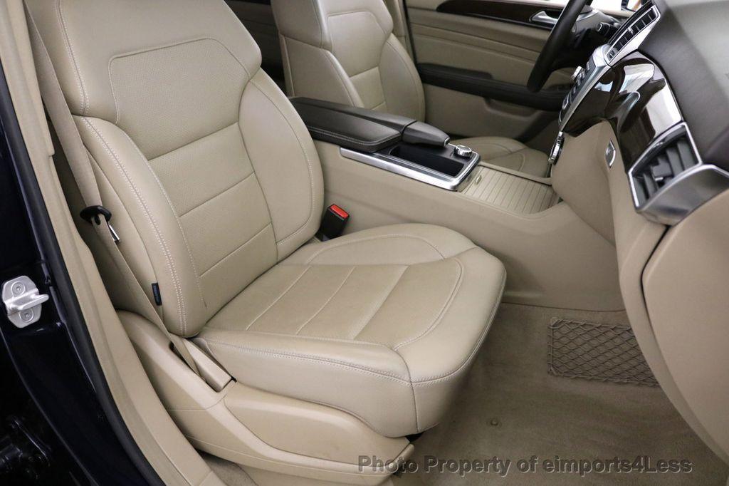 2015 Mercedes-Benz M-Class CERTIFIED ML350 4Matic AWD Blind Spot CAMERA NAVI - 17425261 - 39