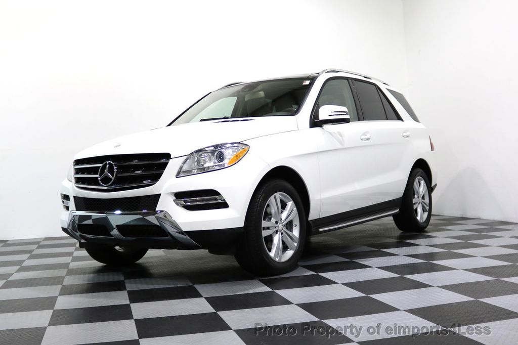 2015 Mercedes-Benz M-Class CERTIFIED ML350 4Matic AWD CAMERA NAVIGATION - 17160371 - 0