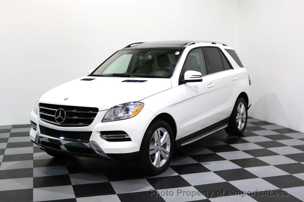 2015 Mercedes-Benz M-Class CERTIFIED ML350 4Matic AWD CAMERA NAVIGATION - 17160371 - 13
