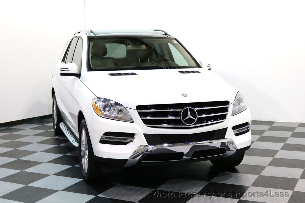 2015 Mercedes-Benz M-Class CERTIFIED ML350 4Matic AWD CAMERA NAVIGATION - 17160371 - 14