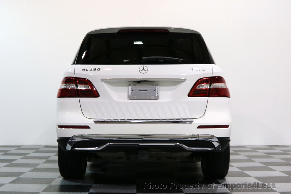 2015 Mercedes-Benz M-Class CERTIFIED ML350 4Matic AWD CAMERA NAVIGATION - 17160371 - 16