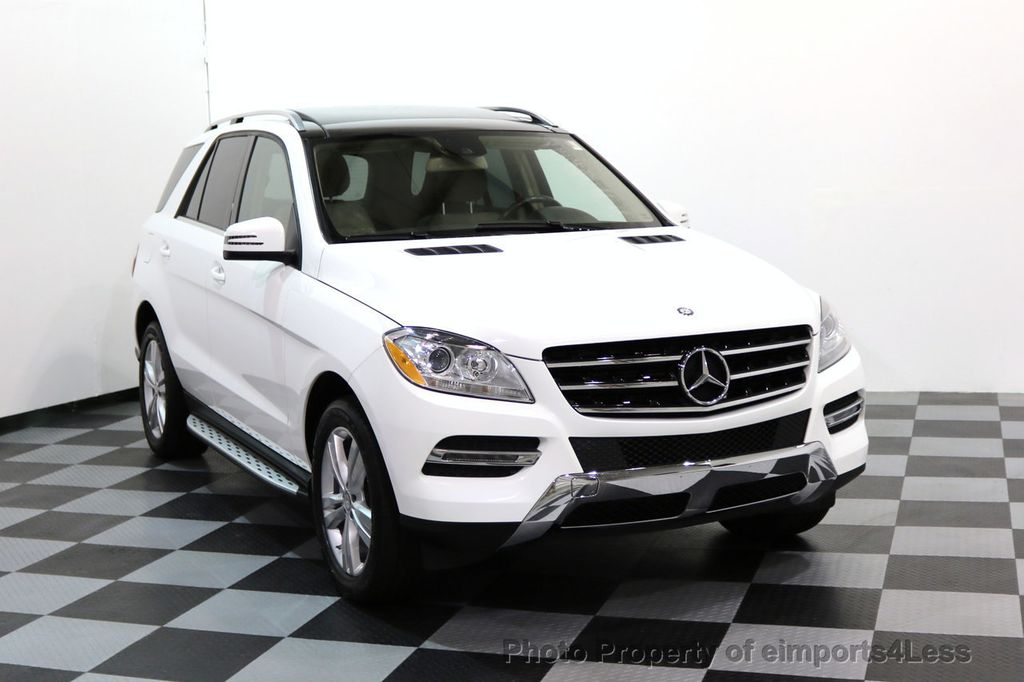 2015 Mercedes-Benz M-Class CERTIFIED ML350 4Matic AWD CAMERA NAVIGATION - 17160371 - 1