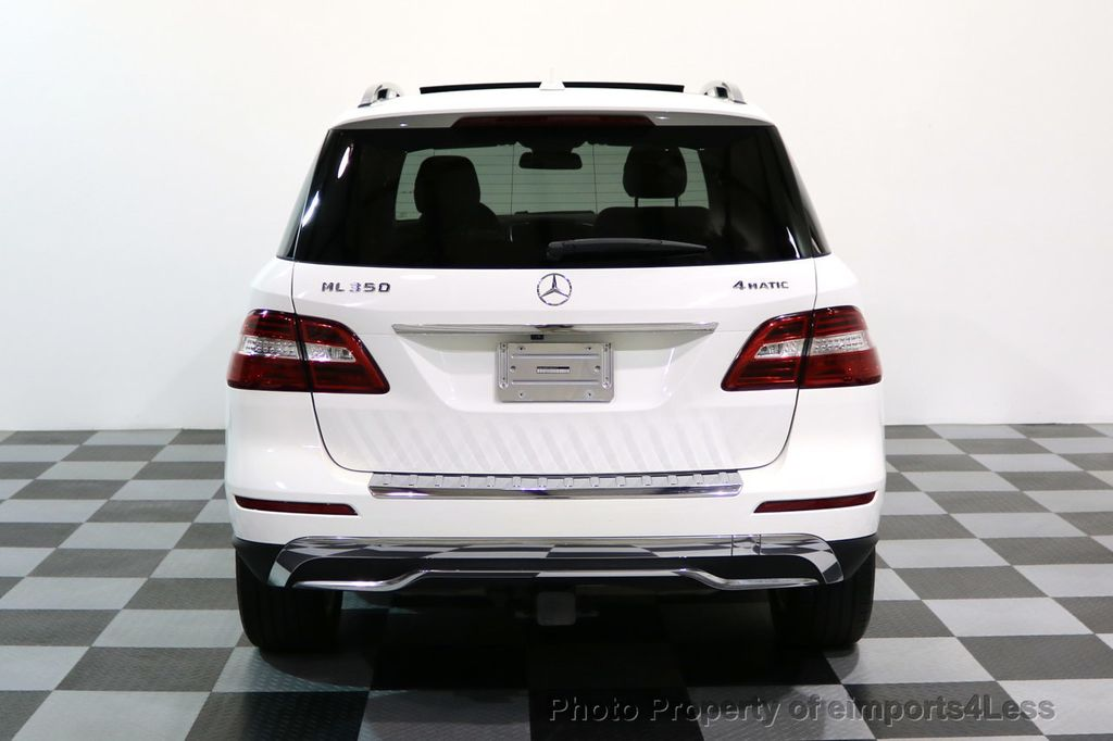 2015 Mercedes-Benz M-Class CERTIFIED ML350 4Matic AWD CAMERA NAVIGATION - 17160371 - 28