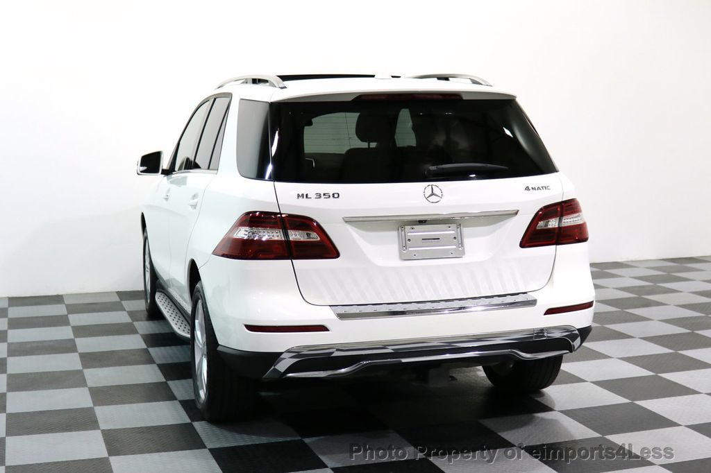 2015 Mercedes-Benz M-Class CERTIFIED ML350 4Matic AWD CAMERA NAVIGATION - 17160371 - 43