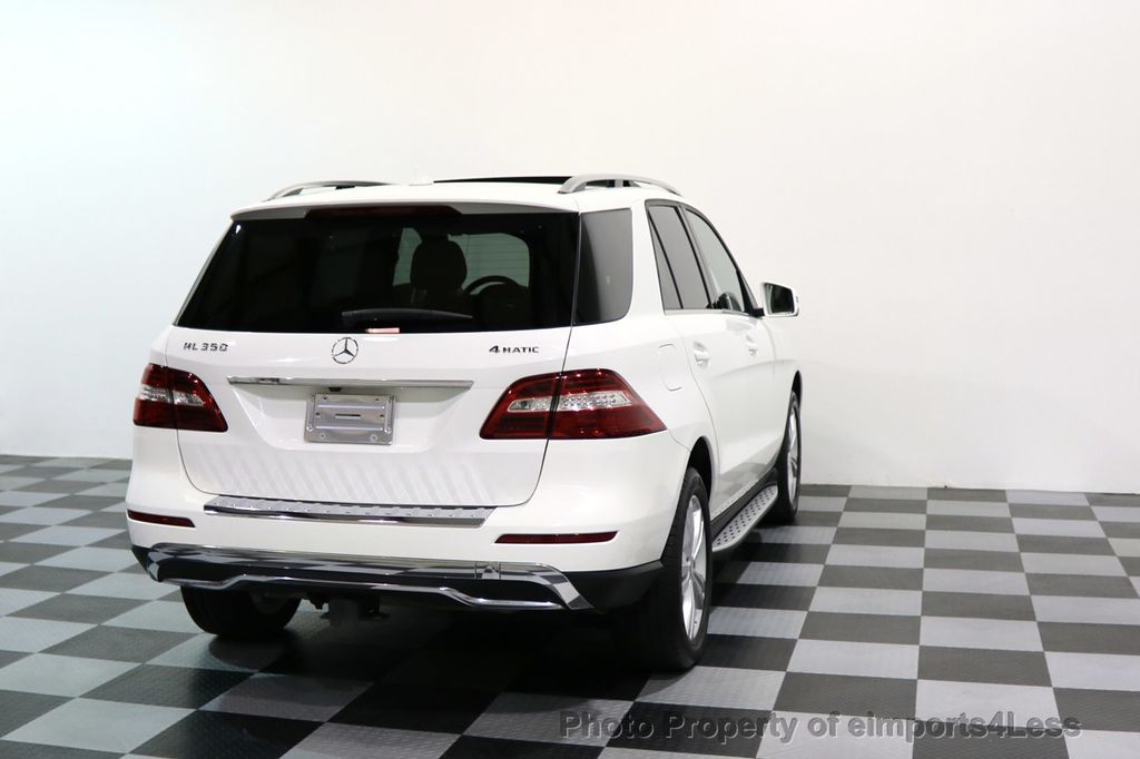 2015 Mercedes-Benz M-Class CERTIFIED ML350 4Matic AWD CAMERA NAVIGATION - 17160371 - 44