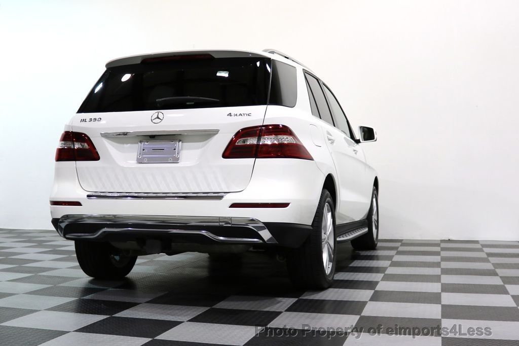 2015 Mercedes-Benz M-Class CERTIFIED ML350 4Matic AWD CAMERA NAVIGATION - 17160371 - 45