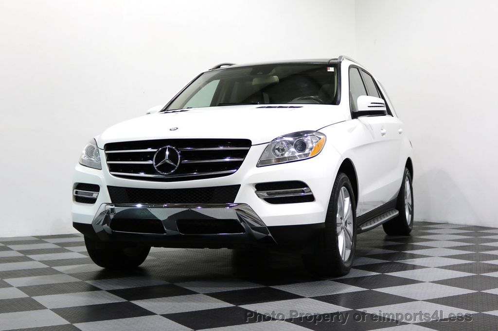 2015 Mercedes-Benz M-Class CERTIFIED ML350 4Matic AWD CAMERA NAVIGATION - 17160371 - 47