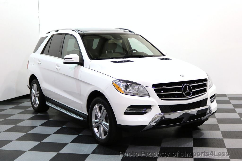 2015 Mercedes-Benz M-Class CERTIFIED ML350 4Matic AWD CAMERA NAVIGATION - 17160371 - 48