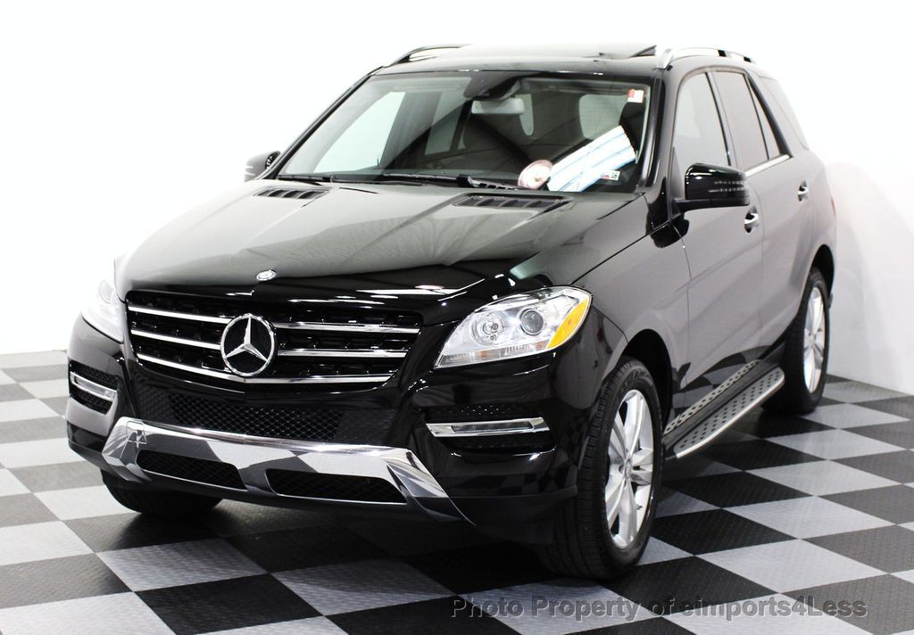 2015 used mercedes benz m class certified ml350 4matic awd suv blind spot navigation at. Black Bedroom Furniture Sets. Home Design Ideas