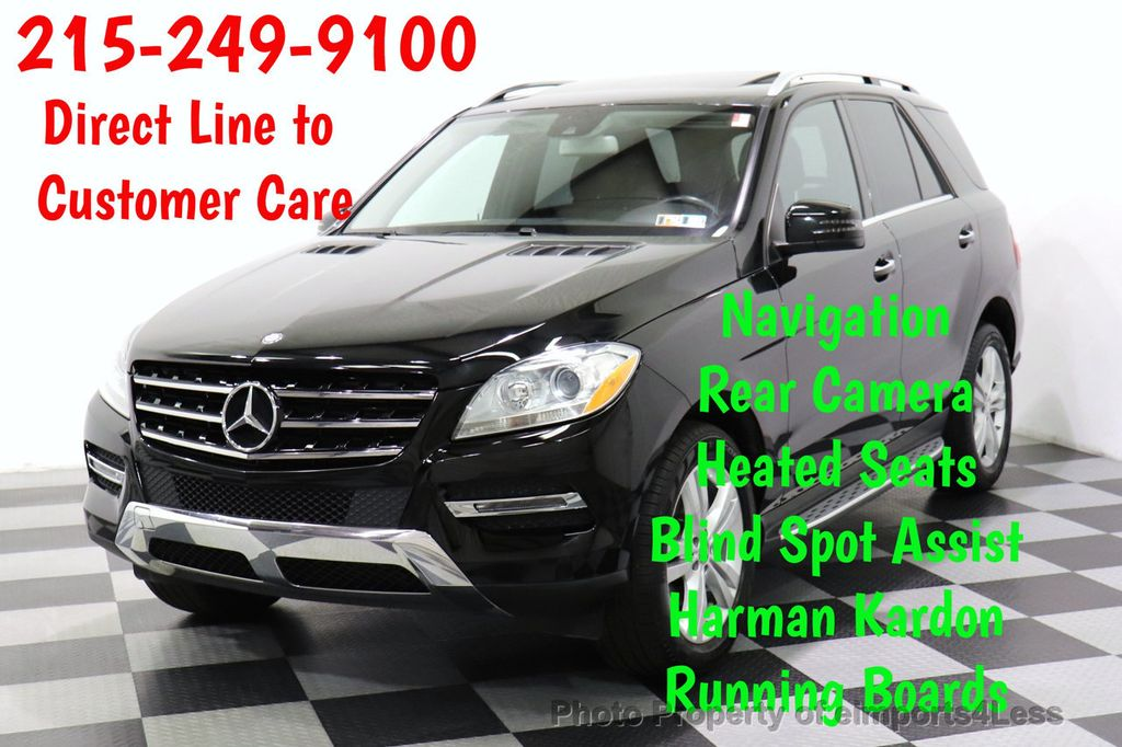 2015 used mercedes benz m class certified ml350 4matic awd suv blis camera navigation at. Black Bedroom Furniture Sets. Home Design Ideas