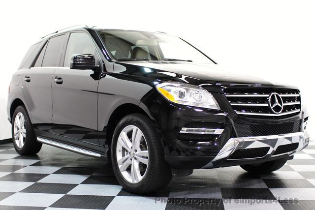 2015 Mercedes-Benz M-Class CERTIFIED ML350 4MATIC AWD SUV CAMERA / NAVI - 16581568 - 1