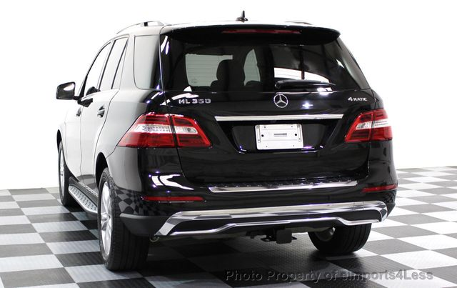 2015 Mercedes-Benz M-Class CERTIFIED ML350 4MATIC AWD SUV CAMERA / NAVI - 16581568 - 2