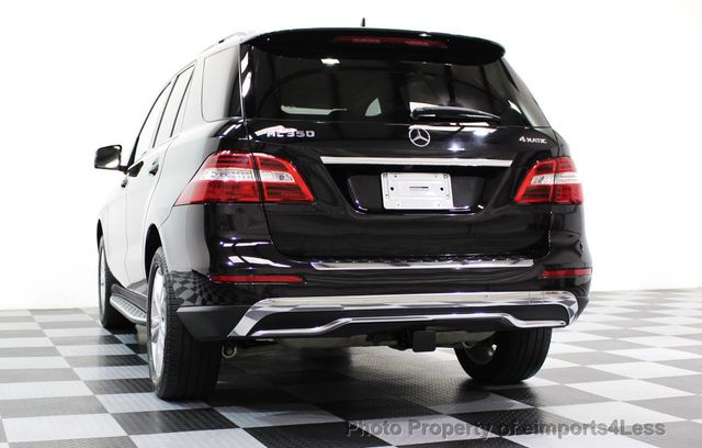 2015 Mercedes-Benz M-Class CERTIFIED ML350 4MATIC AWD SUV CAMERA / NAVI - 16581568 - 47