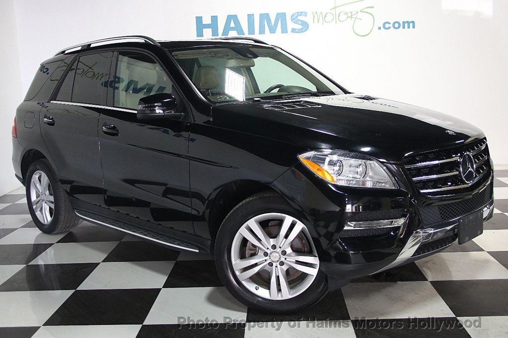 2015 Used Mercedes Benz M Class Ml 350 4matic 4dr Ml350 At