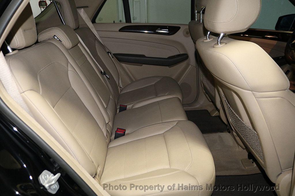 2015 Mercedes-Benz M-Class RWD 4dr ML 350 - 18373662 - 15