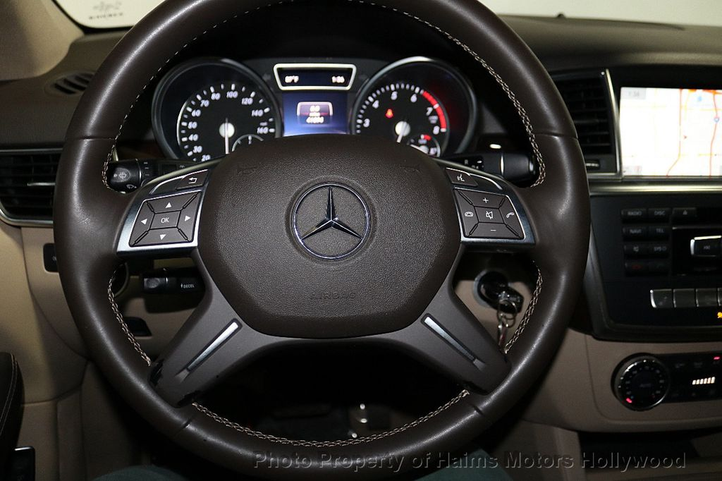 2015 Mercedes-Benz M-Class RWD 4dr ML 350 - 18373662 - 29