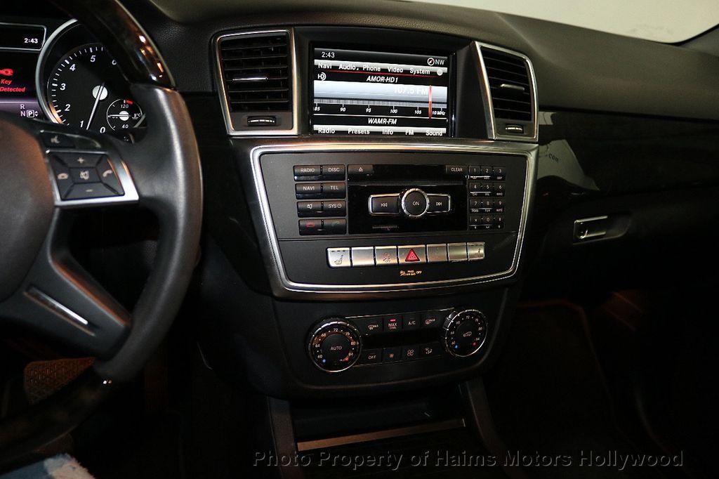 2015 Mercedes-Benz M-Class RWD 4dr ML 350 - 18501500 - 20
