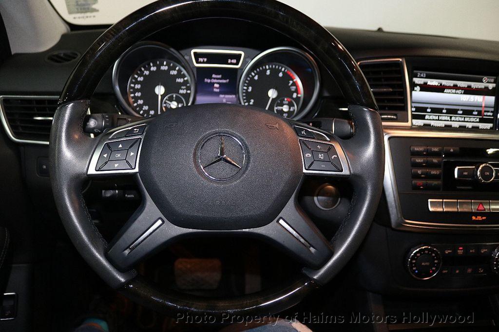 2015 Mercedes-Benz M-Class RWD 4dr ML 350 - 18501500 - 27
