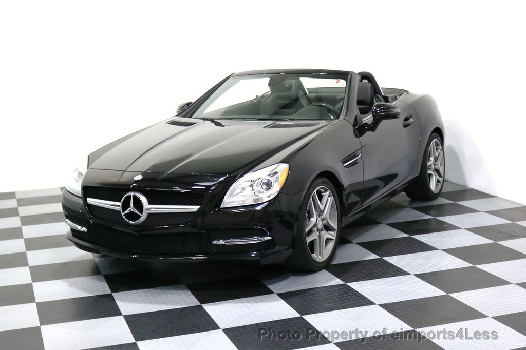 2015 Mercedes-Benz SLK CERTIFIED SLK250 6 SPEED MANUAL TRANS PANO NAVI - 17308034 - 0