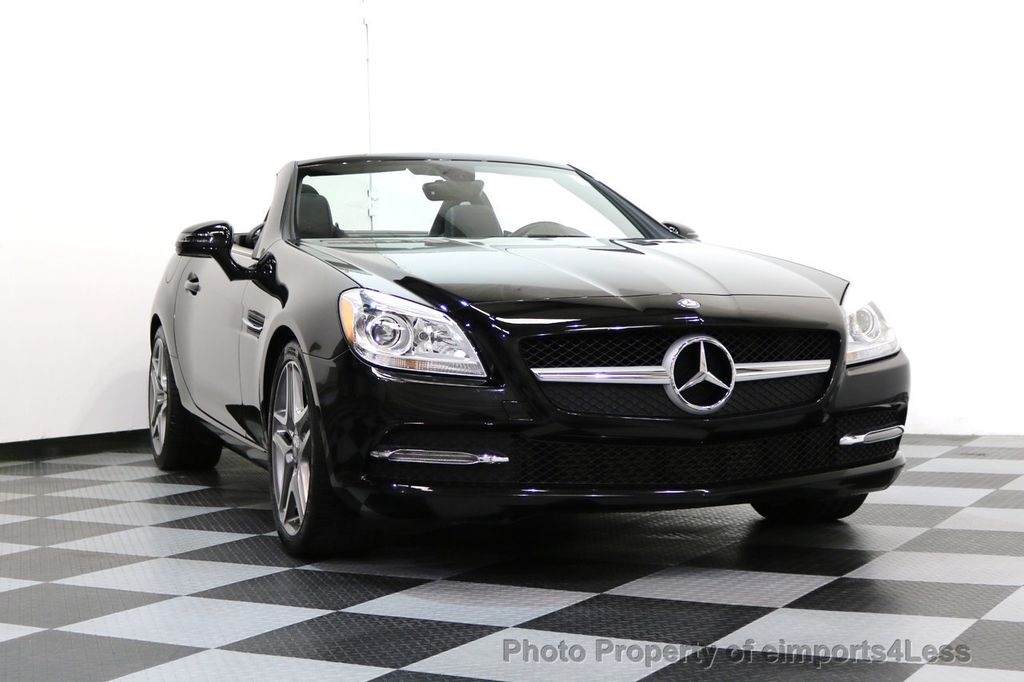 2015 Mercedes-Benz SLK CERTIFIED SLK250 6 SPEED MANUAL TRANS PANO NAVI - 17308034 - 14