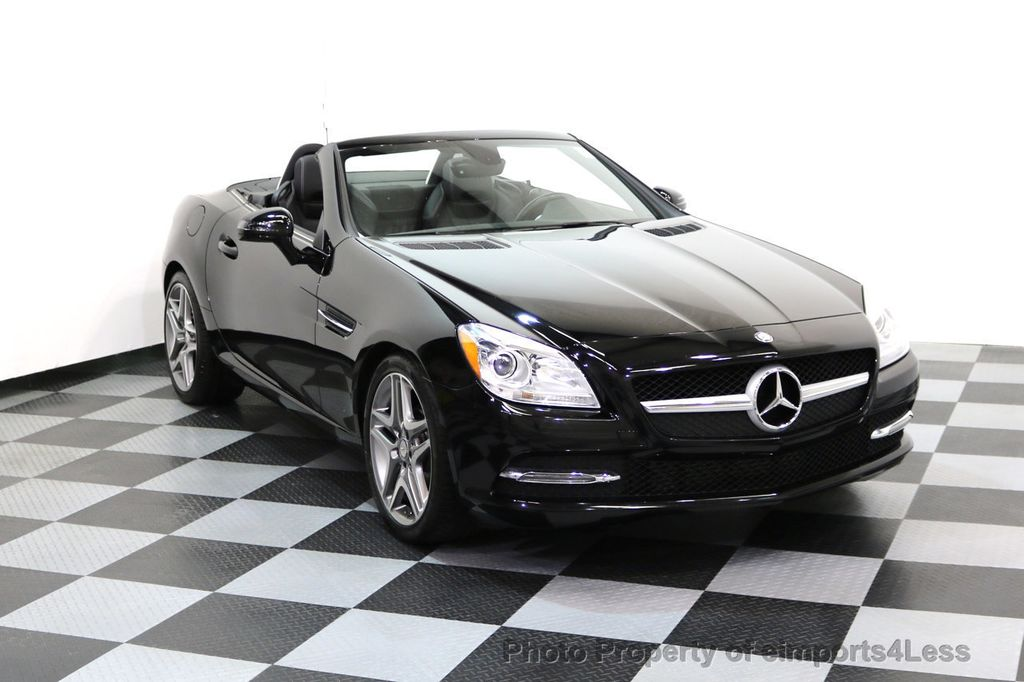 2015 Mercedes-Benz SLK CERTIFIED SLK250 6 SPEED MANUAL TRANS PANO NAVI - 17308034 - 1