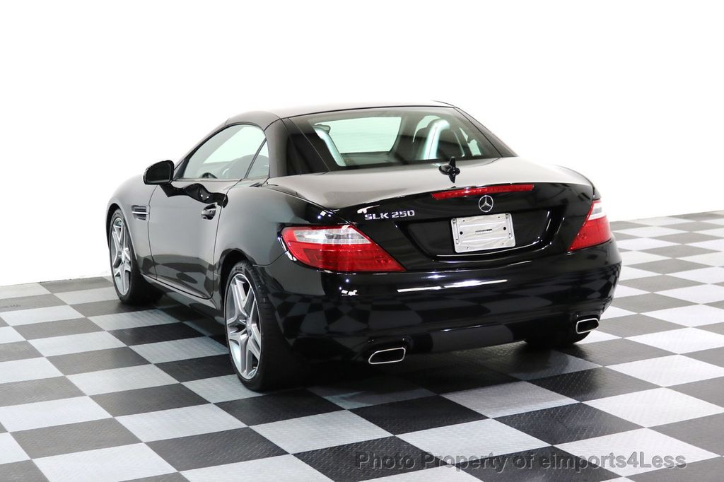 2015 Mercedes-Benz SLK CERTIFIED SLK250 6 SPEED MANUAL TRANS PANO NAVI - 17308034 - 2