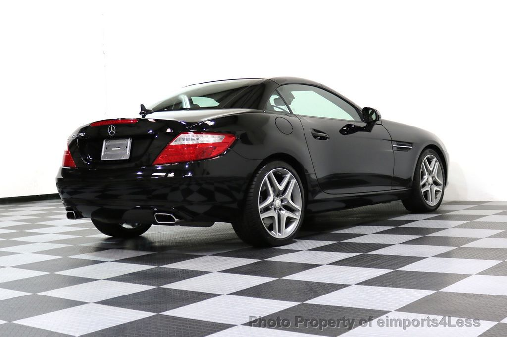 2015 Mercedes-Benz SLK CERTIFIED SLK250 6 SPEED MANUAL TRANS PANO NAVI - 17308034 - 31