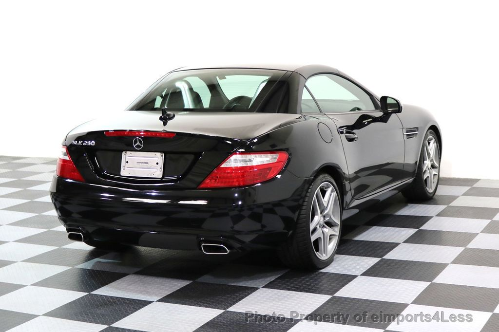 2015 Mercedes-Benz SLK CERTIFIED SLK250 6 SPEED MANUAL TRANS PANO NAVI - 17308034 - 3