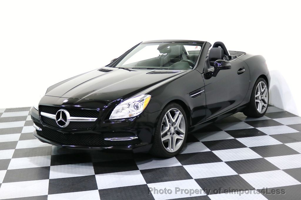 2015 Mercedes-Benz SLK CERTIFIED SLK250 6 SPEED MANUAL TRANS PANO NAVI - 17308034 - 40