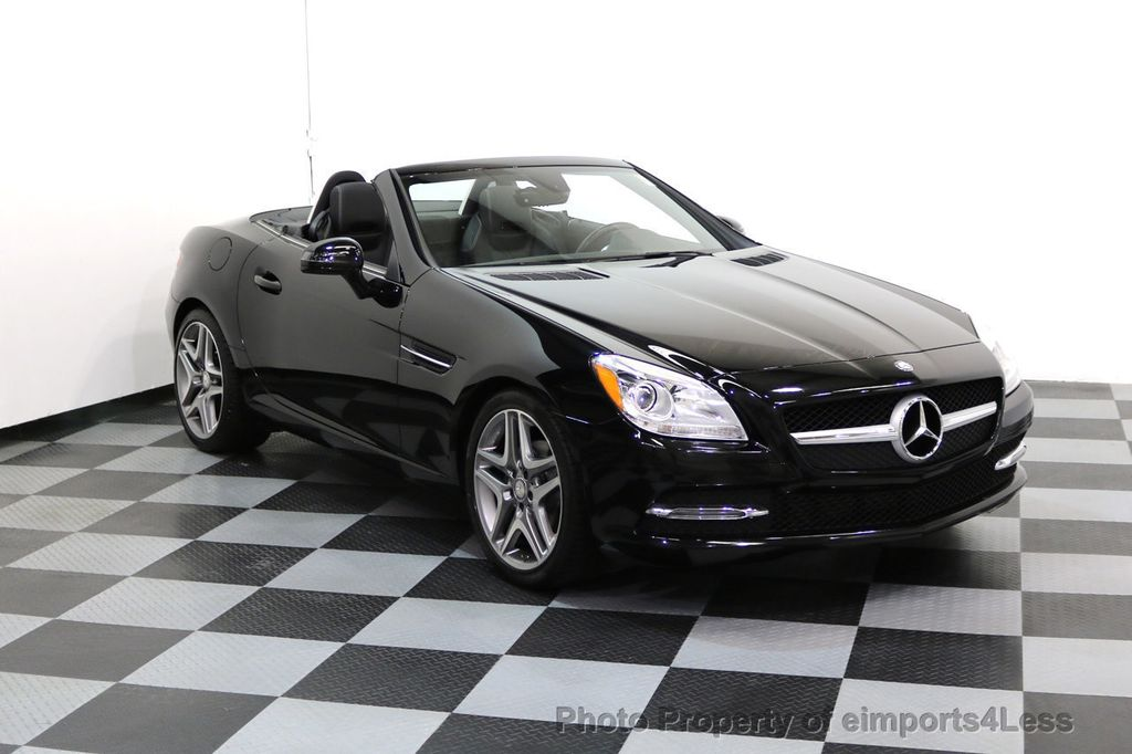 2015 Mercedes-Benz SLK CERTIFIED SLK250 6 SPEED MANUAL TRANS PANO NAVI - 17308034 - 41