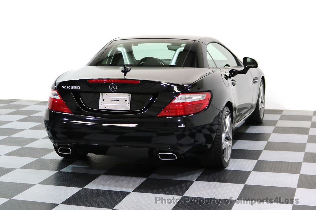 2015 Mercedes-Benz SLK CERTIFIED SLK250 6 SPEED MANUAL TRANS PANO NAVI - 17308034 - 43