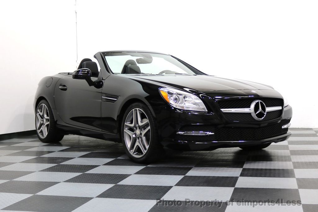 2015 Mercedes-Benz SLK CERTIFIED SLK250 6 SPEED MANUAL TRANS PANO NAVI - 17308034 - 47