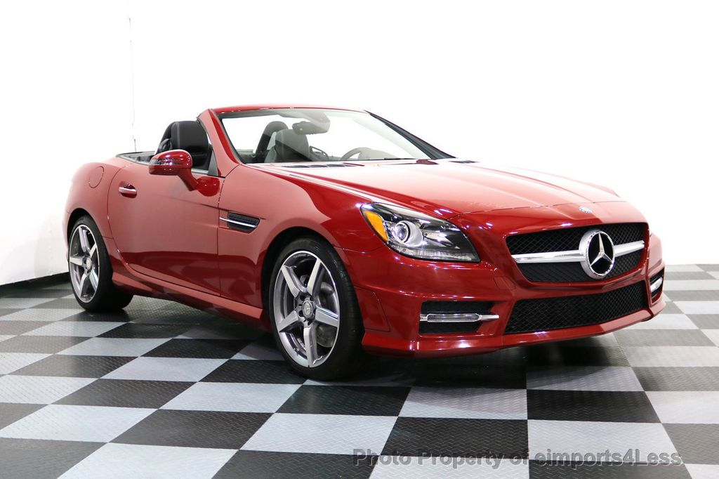 2015 Mercedes-Benz SLK CERTIFIED SLK250 AMG SPORT PACKAGE NAVIGATION - 17057504 - 9