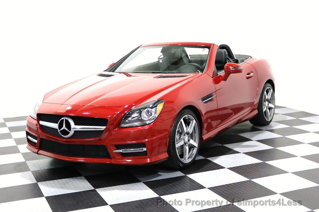 2015 Mercedes-Benz SLK CERTIFIED SLK250 AMG SPORT PACKAGE NAVIGATION - 17057504 - 14