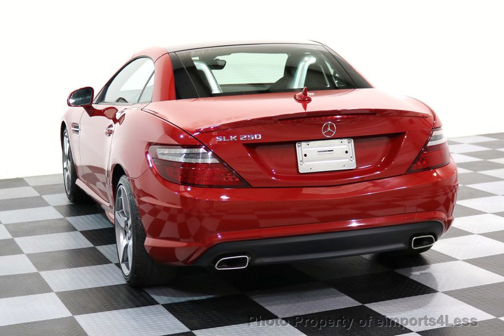 2015 Mercedes-Benz SLK CERTIFIED SLK250 AMG SPORT PACKAGE NAVIGATION - 17057504 - 16