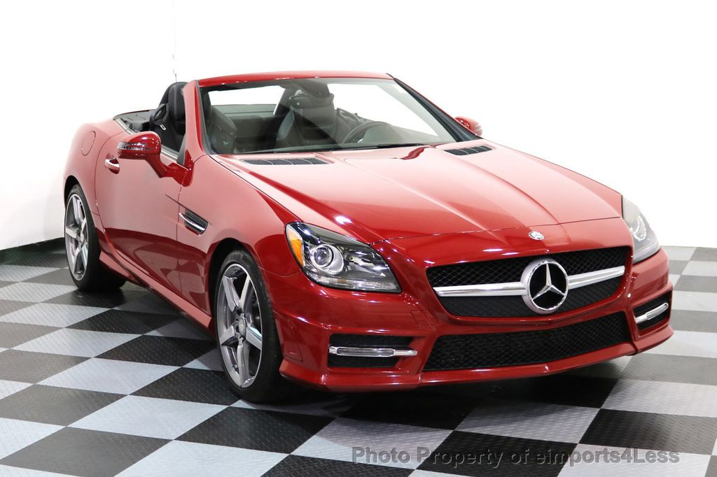 2015 Mercedes-Benz SLK CERTIFIED SLK250 AMG SPORT PACKAGE NAVIGATION - 17057504 - 1
