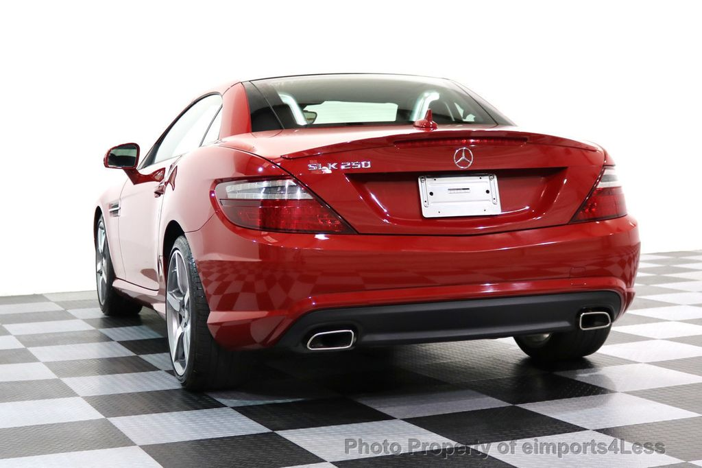 2015 Mercedes-Benz SLK CERTIFIED SLK250 AMG SPORT PACKAGE NAVIGATION - 17057504 - 44