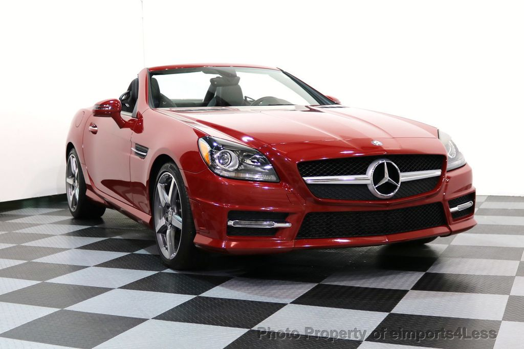 2015 Mercedes-Benz SLK CERTIFIED SLK250 AMG SPORT PACKAGE NAVIGATION - 17057504 - 46